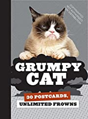 Grumpy Cat Postcard Book: 30 Postcards,…