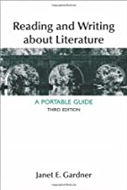 Reading and Writing About Literature: A…