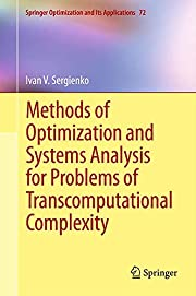 Methods of optimization and systems analysis…