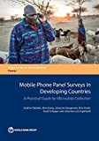 Mobile phone panel surveys in developing countries / Andrew Dabalen [and five others]