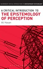 A Critical Introduction to the Epistemology…