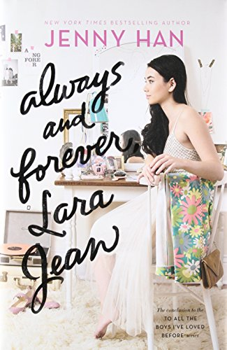 cover of Always and Forever, Lara Jean, with girl at dressing table