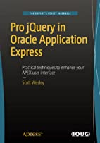 Pro jQuery in Oracle Application Express by…