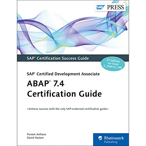PDF] ABAP 7 4 Certification Guide: SAP Certified Development