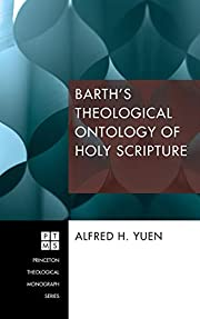 Barth's Theological Ontology of Holy…