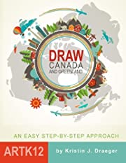 Draw Canada and Greenland por Kristin J.…