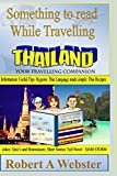 Something to read While Travelling- Thailand