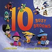 10 Busy Brooms av Carole Gerber