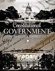 Constitutional Government: The American…