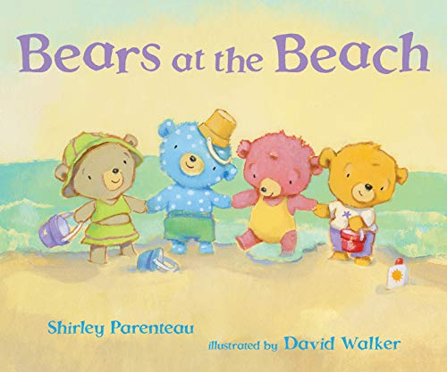 Bears at the Beach by Shirley Parenteau