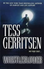 Whistleblower by Tess Gerritsen