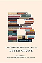 The Broadview Introduction to Literature by…