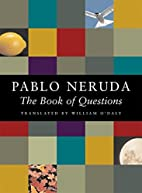 Book of Questions by Pablo Neruda