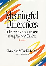 Meaningful Differences in the Everyday…