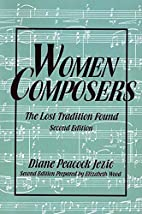 Women Composers: The Lost Tradition Found by…