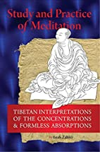 Study And Practice Of Meditation: Tibetan…