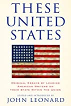 These United States: Original Essays by…