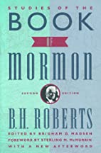 Studies of the Book of Mormon by Brigham D.…