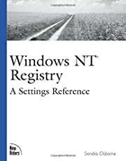 Windows NT Registry (New Rider's…