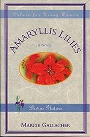Amaryllis Lilies por Marcie Gallacher