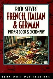 Rick Steves' French, Italian & German Phrase…
