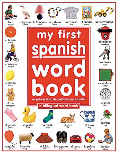 My First Spanish Word Book / Mi Primer Libro De Palabras En