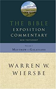 Bible Exposition Commentary, Vol. 1: New…