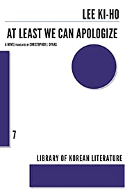 At Least We Can Apologize (Library of Korean…