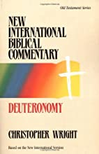 Deuteronomy by Christopher J. H. Wright