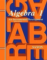 Saxon Algebra 1 Solutions Manual von John H.…