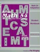 Math 54 Adaptation by Stephen Hake