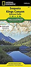 Trails Illustrated Map: Sequoia and Kings…