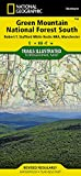 Green Mountain National Forest south, Robert T. Stafford, White Rocks NRA - Manchester, Vermont USA, outdoor recreation map : Big Branch, George D. Aiken, Glastenbury ... state parks & forests ; Trails Illustrated Map / National Geographic Maps