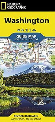 Washington (National Geographic Guide Map)…