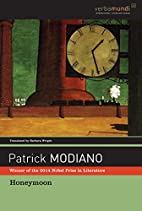 Honeymoon by Patrick Modiano