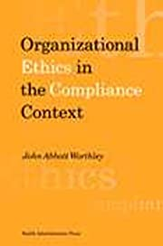 Organizational ethics in the compliance…