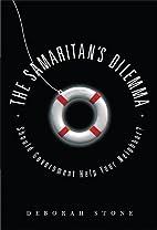 The Samaritan's Dilemma: Should…
