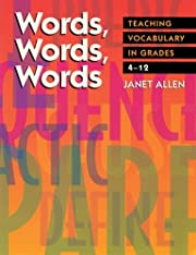 Words, Words, Words: Teaching Vocabulary in…