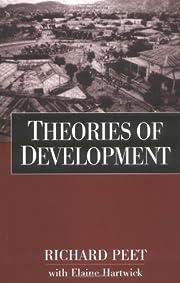 Theories of Development de Richard Peet Phd