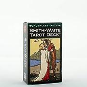 Smith-Waite Tarot Deck Borderless de Arthur…