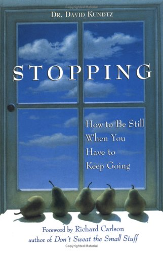 Stopping: How to Be Still When You Have to Keep Going by David Kundtz