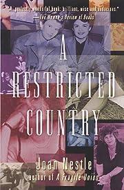 A Restricted Country af Joan Nestle