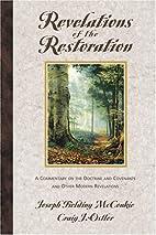 Revelations of the Restoration by Joseph…