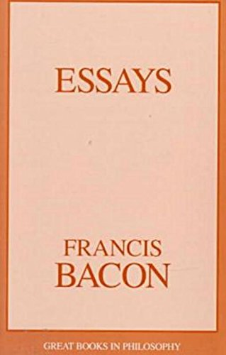 Essays (Great Books in Philosophy), Bacon, Francis