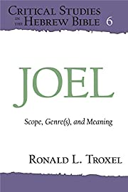 Joel: Scope, Genre(s), and Meaning (Critical…