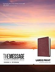 The Message Bible de Eugene H. Peterson