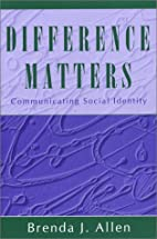 Difference Matters: Communicating Social…