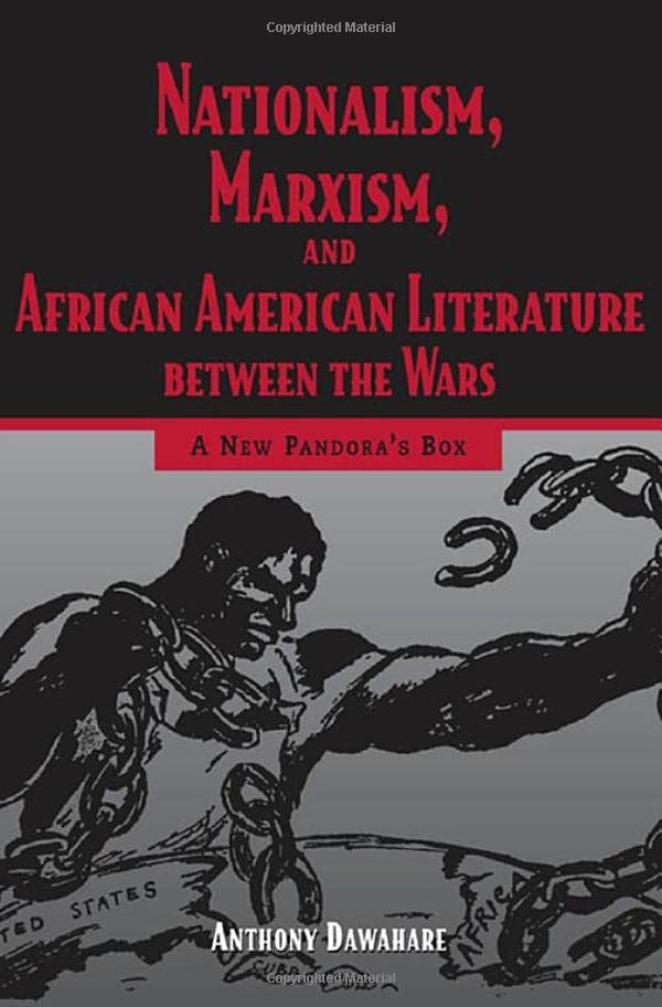 PDF] Nationalism, Marxism, and African American Literature Between