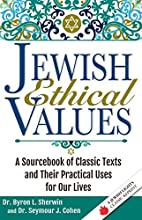 Jewish Ethical Values by Dr. Seymour J.…