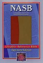 NASB Ultrathin Reference Bible, Burgundy/Tan…